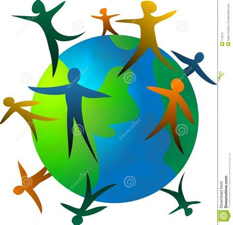 clipart mondo povos do mundo ilustra 231 227 o stock imagem de around
