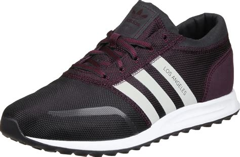 adidas los angeles shoes maroon white