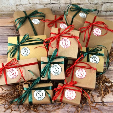the 12 days of christmas gifts for guys the days of gifts
