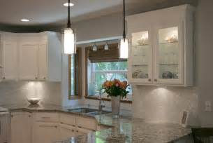 Traditional Kitchen Tiles - white mother of pearl 1 quot x 1 quot backsplash traditional kitchen other metro by tile circle