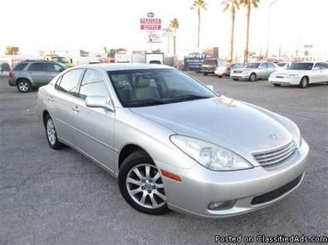 2004 Lexus Es330 Price 2004 Lexus Es330 For Sale In 3100 Fremont St Las Vegas