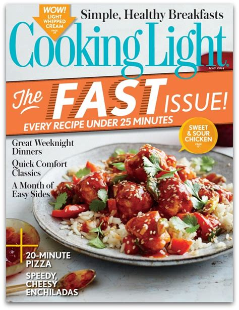 cooking light rare cooking light magazine for as low as 9 99 money
