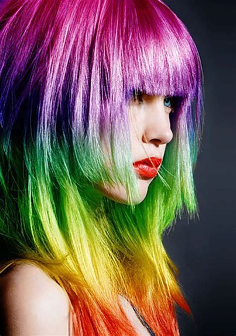 rainbow hair colors trend rainbow hair colors 2014 hairstyles tips