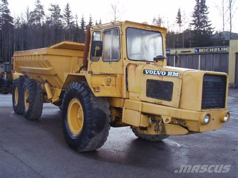 volvo bm  tl articulated dump truck adt year  price    sale mascus usa