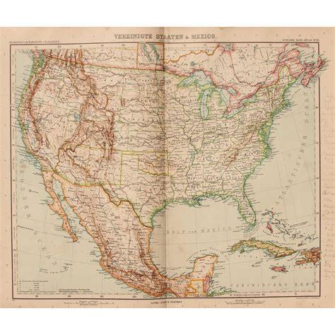 map of the usa and mexico nouveau map of the usa mexico jamaica cuba