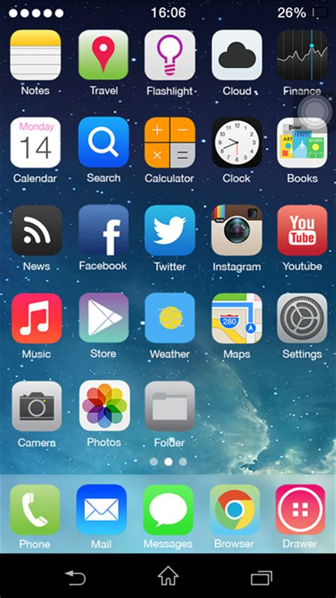 android app center themer easy change your home screen