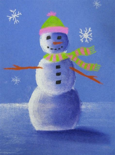 value snowmen art with mrs peroddy
