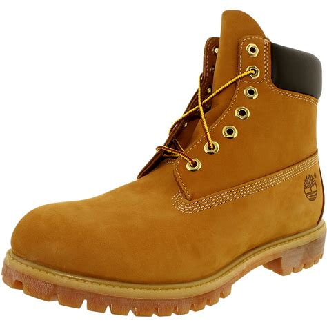 timberland leather boots timberland s 6 inch premium boot leather ankle high