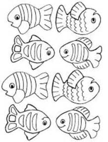 small fish coloring pages for kids title down by the