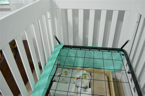 attaching crib to bed skirting the issue er crib loving here