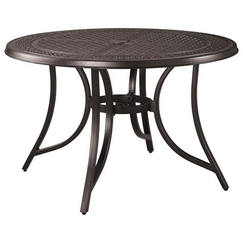 signature dining table signature design by abriola outdoor dining