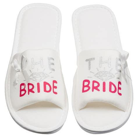 White Slippers For Wedding by 1000 Ideas About Wedding Slippers On Wedding