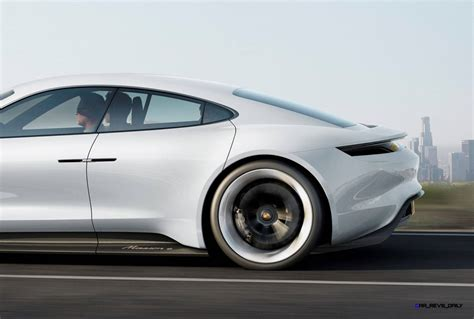 porsche mission e charging 3 5s 2015 porsche mission e 600hp concept is 4 door