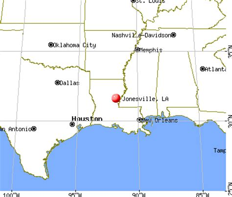jonesville louisiana map jonesville louisiana la 71343 profile population maps