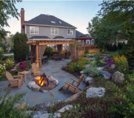 Pergola With Fire Pit by Backyard Pergola Fire Pit Pergolas Gazebo