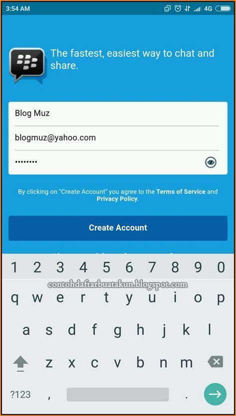 membuat email baru buat bbm cara mendaftar bbm android cara buat akun bbm baru di hp