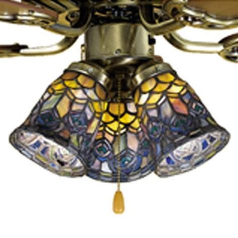stained glass ceiling fan light shades tiffany style ceiling fan light shades best home design 2018