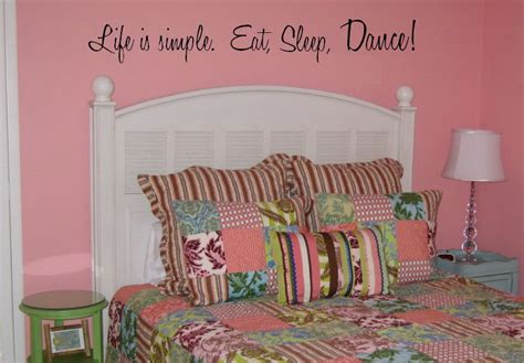 bedroom dancing wall quotes and sayings for bedrooms and for children
