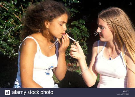 very young little girls smoking young teenage girls smoking stock photo royalty free