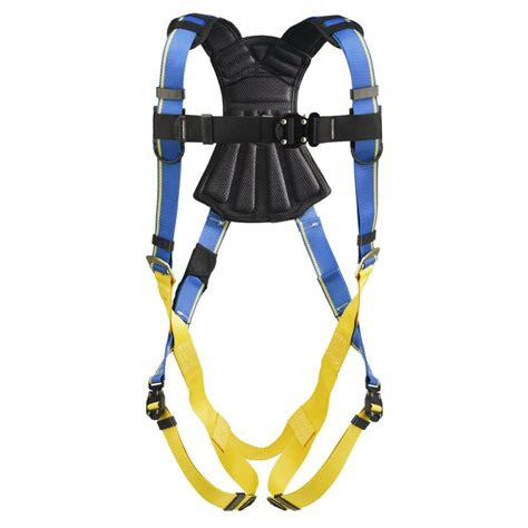 xl harness werner upgear blue armor 2000 standard 1 d ring xl harness h113004 the home depot