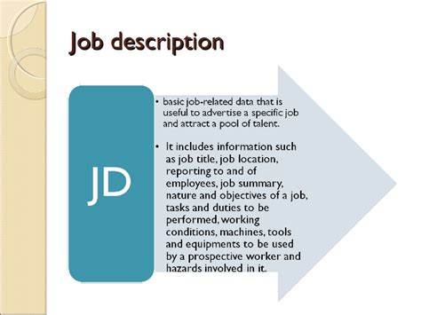 Commercial Model Job Description | model of job description