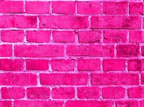 pink brick wall hot pink brick wall pink pinterest