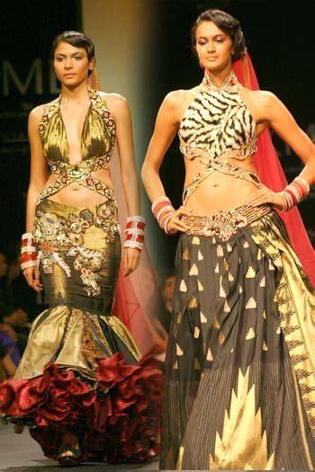 Indian Bridal Dresses by Ritu Beri