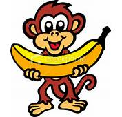 Cartoon Monkey On Banana Tattoo Is A Quality Selection Of Tattoos Our