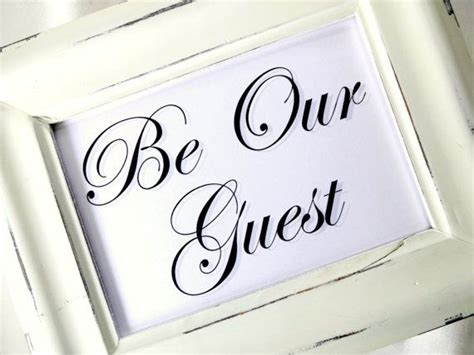 Be Our Guest by Be Our Guest For The Home