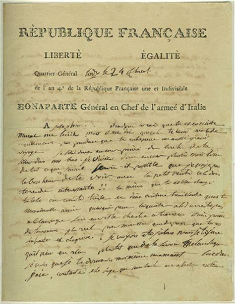 Josephine Divorce Letter Napoleon Congratulates Josephine On Bogus Pregnancy