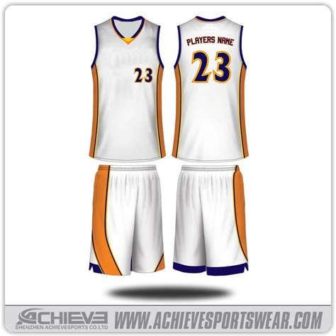 jersey design plain basketball uniform design white www pixshark com