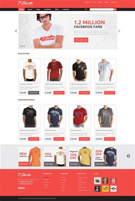 woocomerce template tema jigoshop 48185 para sitio de tienda de camisetas