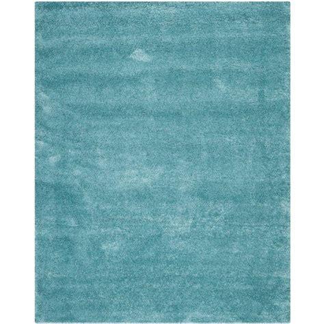 Safavieh Milan Shag Aqua Blue 8 Ft 6 In X 12 Ft Area 6 X 12 Area Rug