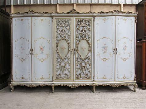 Vintage Wardrobes Uk by Antique Impressive Large Italian Rococo Style Painted