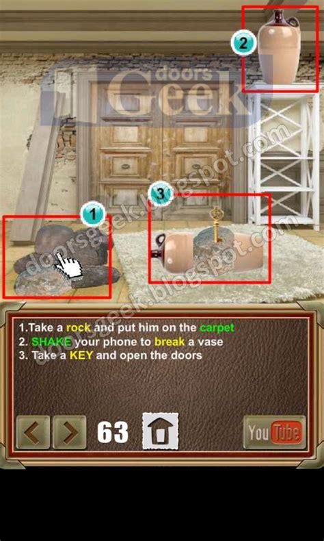doors of revenge level 15 solution 100 doors of revenge level 63 doors geek