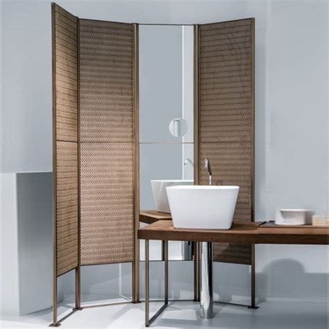 bathroom room dividers makro shade 4 door rubelli room divider modern