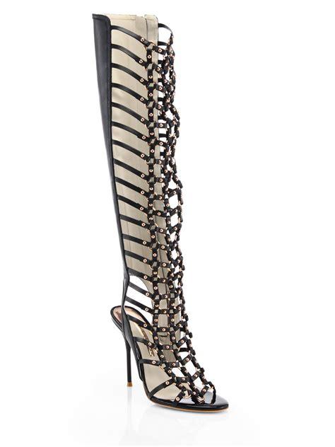 webster gladiator sandals webster fantasia leather gladiator sandal boots in