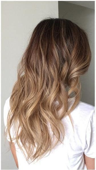 ombre bunette blonde brunette on bottom subtle brunette ombre highlights sombre hair color