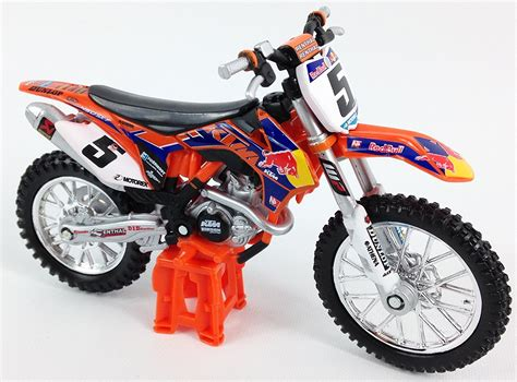 motocross cast burago dungey bull ktm 1 18 die cast model