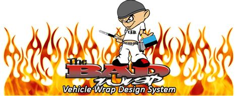 The Bad Wrap System From Beacon Graphics Llc Vinyl Films Bad Wrap Templates