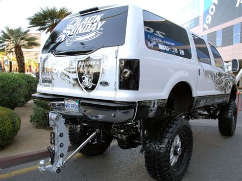 monster truck show in oakland ca oakland raider custum trucks raider nation at sema