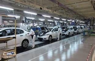 new car manufacturers in india honda considering a new car manufacturing plant in gujarat