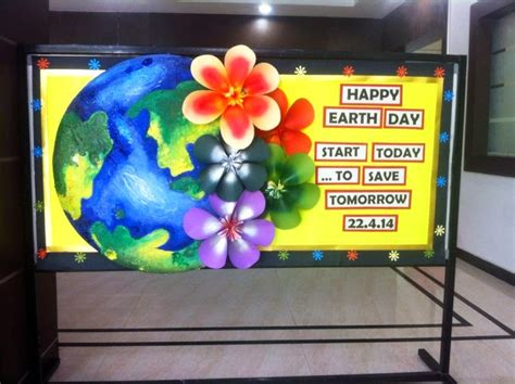 Earth Our Home Secondary 2 craft ideas and bulletin boards for elementary