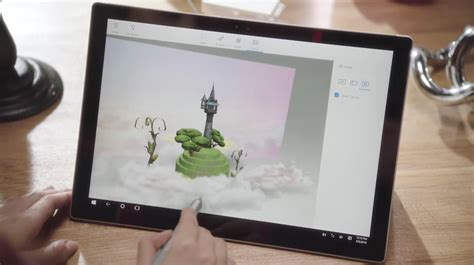 a paint 3d preview is already available for windows microsoft working on paint 3d for windows 10 mobile