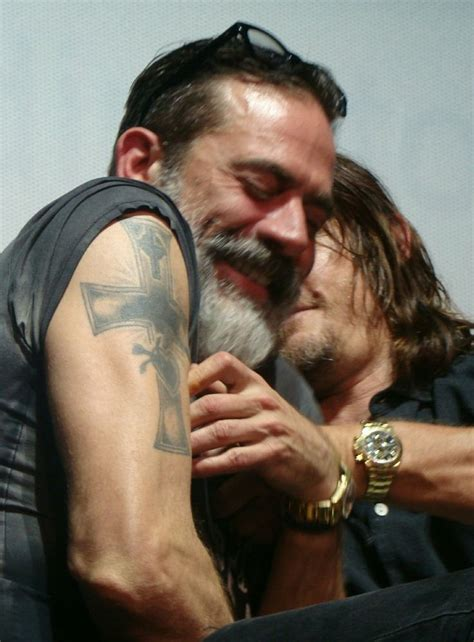 jeffrey dean morgan tattoos 4325 best the walking dead images on the