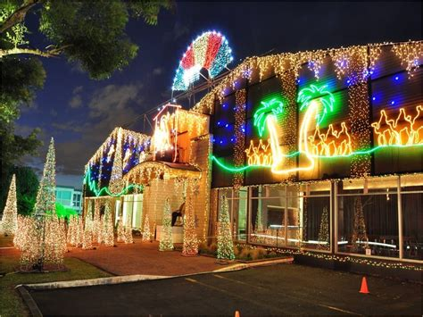 christmas lights trail in east auckland east auckland