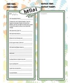 compassion international letter template and free printable stationary to brighten up your