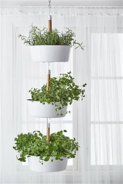 hanging balcony table ikea in the corner planters and hanging herbs on pinterest