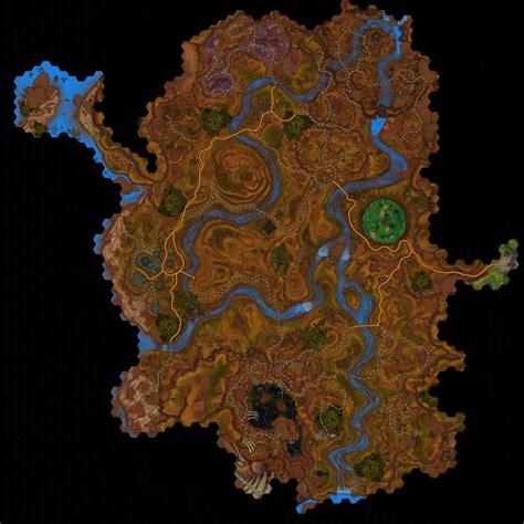wildstar map deradune datacubes journals and tales locations