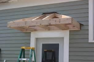 Overhang For Front Door Bricks Honey Building The Back Door Overhang